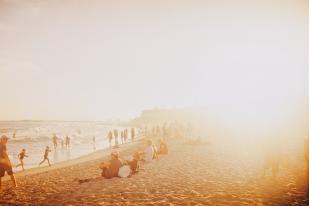 Kings Beach, 35mm film